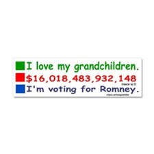 grandchildren10x3 Car Magnet 10 x 3