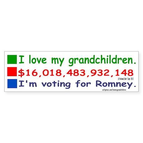grandchildren10x3 Sticker (Bumper)