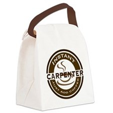 Instant Carpenter Coffee Canvas Lunch Bag