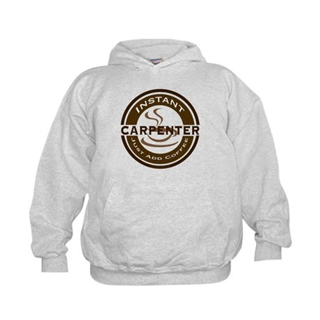 Instant Carpenter Coffee Kids Hoodie