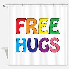 Free Hugs Shower Curtain