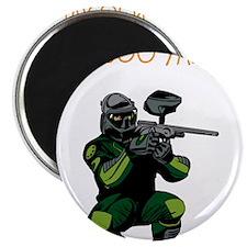 """BOO YA Paintballer 2.25"""" Magnet (10 pack)"""
