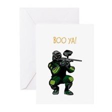 BOO YA Paintballer Greeting Cards (Pk of 20)