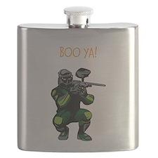 BOO YA Paintballer Flask