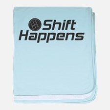 Shift Happens baby blanket