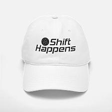Shift Happens Baseball Baseball Cap