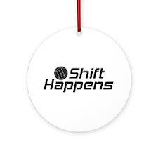 Shift Happens Ornament (Round)