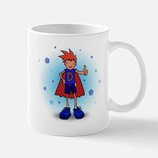 Red Head D-Boy with Pump Mug