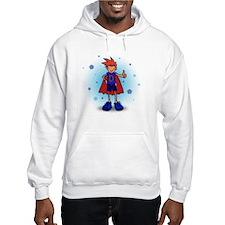Red Head D-Boy with Pump Hoodie Sweatshirt