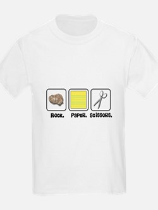Rock Paper Scissors Kids T-Shirt