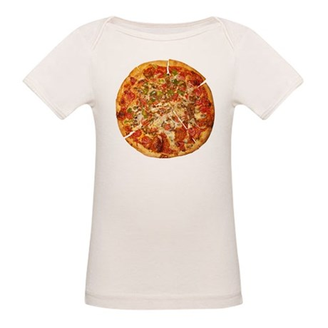 Thank God for Pizza Organic Baby T-Shirt