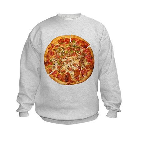 Thank God for Pizza Kids Sweatshirt