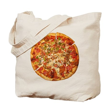 Thank God for Pizza Tote Bag