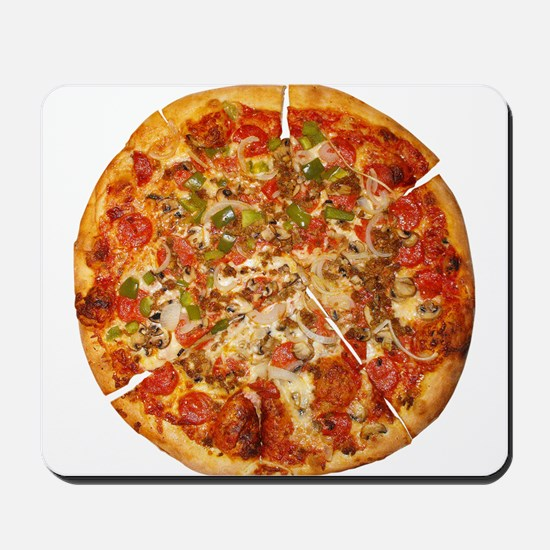 Thank God for Pizza Mousepad