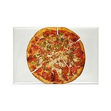 Thank God for Pizza Rectangle Magnet