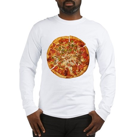 Thank God for Pizza Long Sleeve T-Shirt