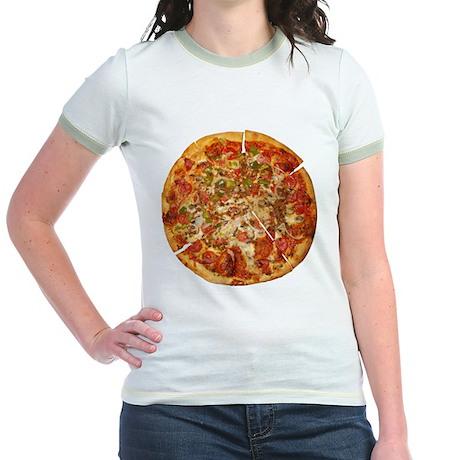 Thank God for Pizza Jr. Ringer T-Shirt
