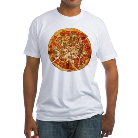 Thank God for Pizza Fitted T-Shirt