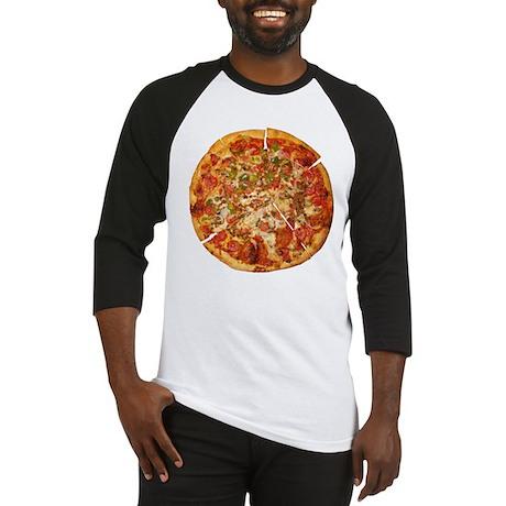 Thank God for Pizza Baseball Jersey