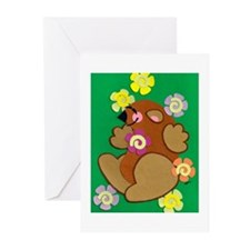 Happy Groundhog Greeting Cards (Pk of 10)