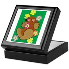 Happy Groundhog Keepsake Box