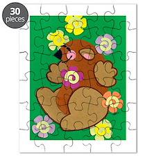 Happy Groundhog Puzzle