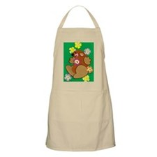 Happy Groundhog Apron