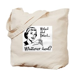 Wined and Dined Tote Bag