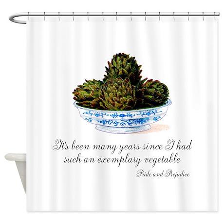 Exemplary Vegetable Shower Curtain
