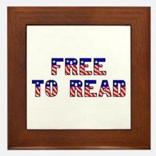 Free to Read Framed Tile