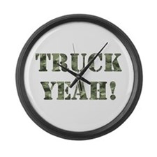 Truck Yeah! Large Wall Clock