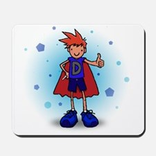 Red Head D-Boy with Insulin Pump Mousepad