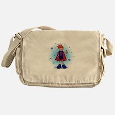 Red Head D-Boy with Insulin Pump Messenger Bag