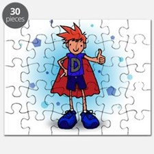 Red Head D-Boy with Insulin Pump Puzzle
