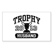 Trophy Husband 2013 Decal