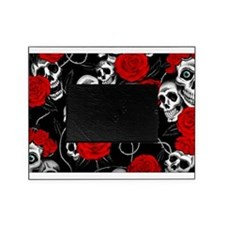 Cool Kids Skulls and Roses Designs Picture Frame
