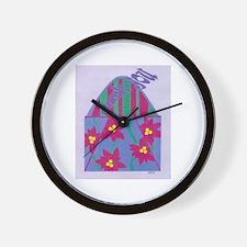 Thank You Elf Wall Clock