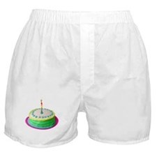 Colored Cake Boxer Shorts