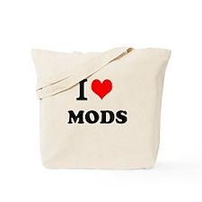 I Heart Mods Tote Bag