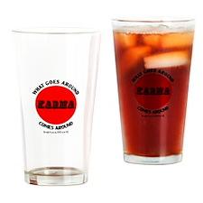 KARMA Drinking Glass