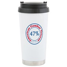 47% Combat Veteran Travel Mug