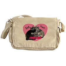 Eat Vape Meow Messenger Bag