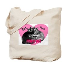 Eat Vape Meow Tote Bag