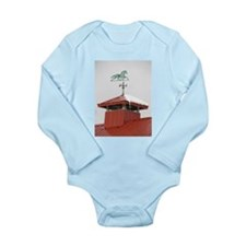 Colony Barn Weathervane Long Sleeve Infant Bodysui