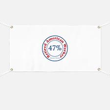 47% Reitred American Banner