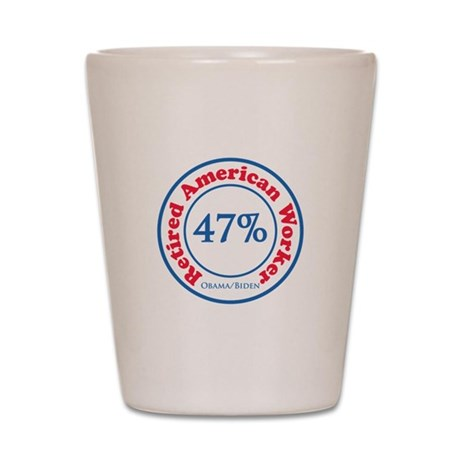 47% Reitred American Shot Glass