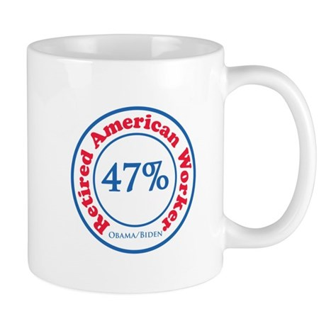 47% Reitred American Mug
