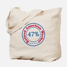 47% Reitred American Tote Bag