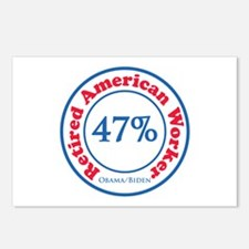 47% Reitred American Postcards (Package of 8)