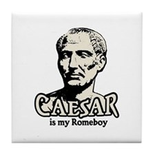 Caesar Romeboy Tile Coaster